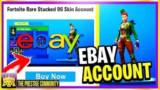 ⛔👉So I Bought This ''RARE'' Fortnite Account From EBAY And Got This....& New Fortnite Glitch (2018)
