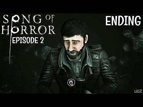 SONG OF HORROR - Episode 2 ENDING Walkthrough (Silent Hill Type Game)