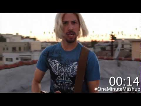 Nickelback in a Minute - One Minute Mashup #12
