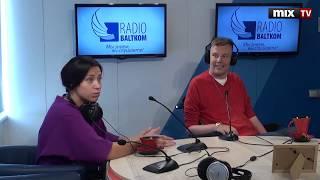 Паралимпийка Полина Рожкова и художник Марек Одуминьш в программе DAVAJ #MIXTV