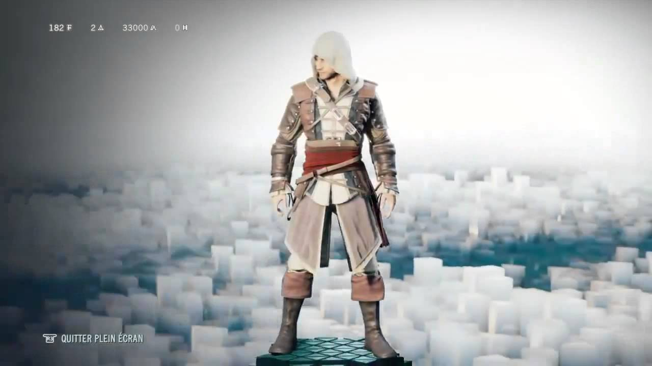 Assassin's Creed Unity All Costumes Leaked PS4