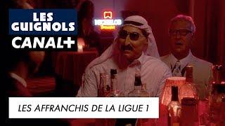 Les Affranchis de la Ligue 1 avec Jean-Michel Aulas, Frank McCourt et Prince Al Thani - Les Guignols