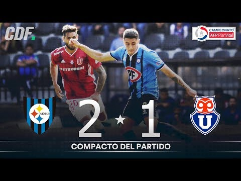 Huachipato U. De Chile Goals And Highlights