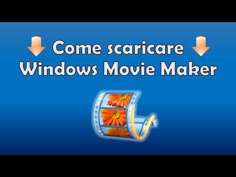 Come Scaricare E Installare Windows Movie Maker |  TUTORIAL 2017 ITA