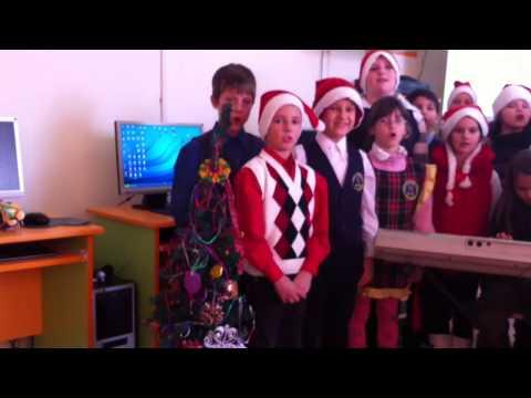 "jingle bells  Etwinning project ""Christmas all around Europe"" teacher Dorina Dragos"