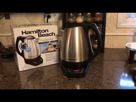 Hamilton Beach Programmable Tea Kettle 40996 - Flashing Numbers - Not Working