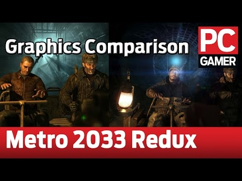 Metro 2033 Redux Comparison: Original Vs. Redux At 2560x1440