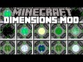 Minecraft DIMENSION MOD / TRAVEL TO STAR WARS DIMENSIONS!! Minecraft