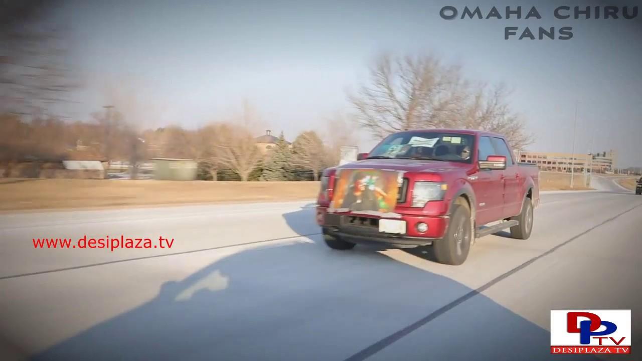 Mega Chiru Rally In Omaha Releasing Khaidi No 150 - Watch the Ending