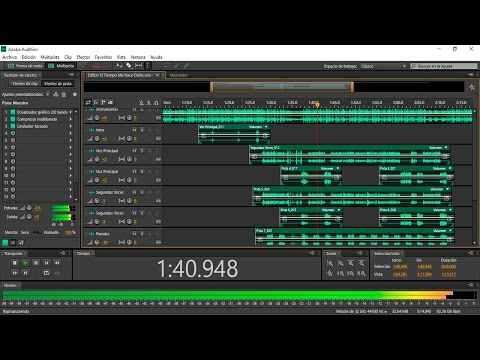 Como Grabar y Masterizar Rap Profesionalmente en Adobe Audition Cs6 | Tutorial Completo