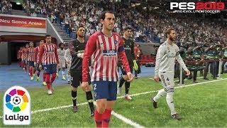 PES 2019 | La Liga | Real Madrid vs Atletico De Madrid | Gameplay PS4