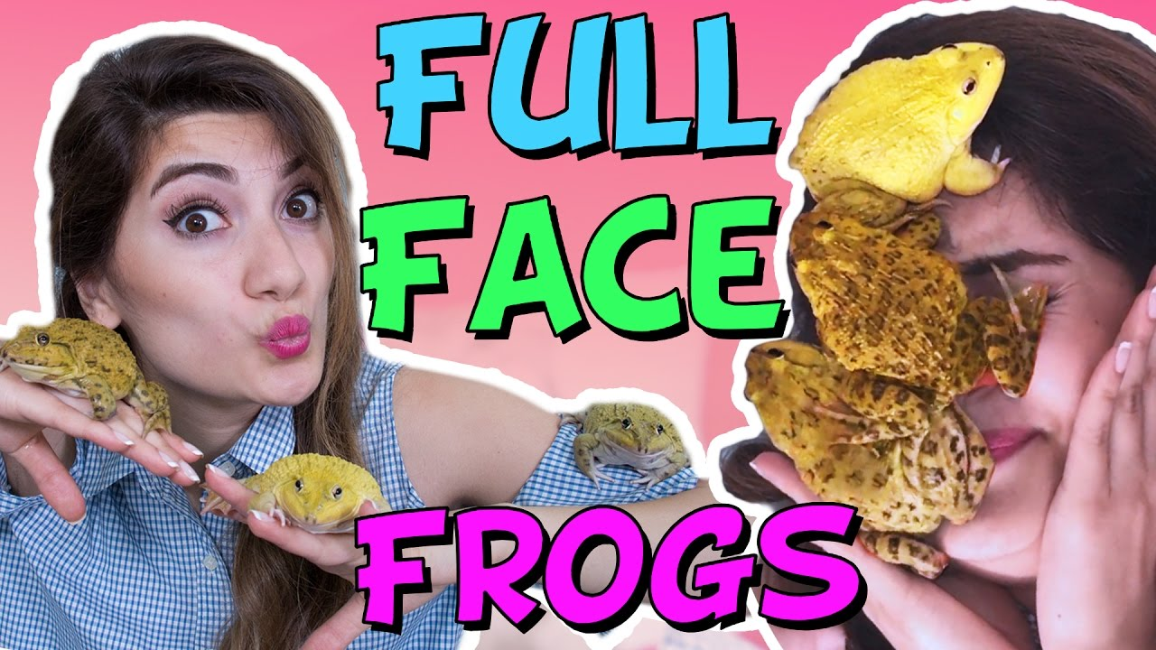 FULL FACE OF FROGS!!!