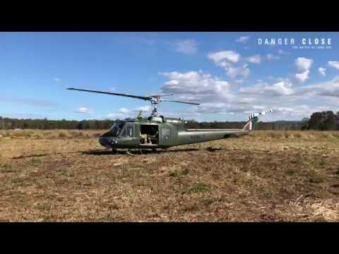 Danger Close: The Battle Of Long Tan BTS - Bell 204 (Iroquois UH-1B)
