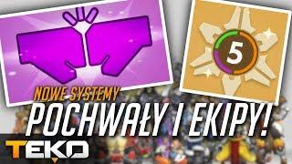 POCHWAŁY i Wyszukiwarka Ekip! Nowe Systemy! [Overwatch]
