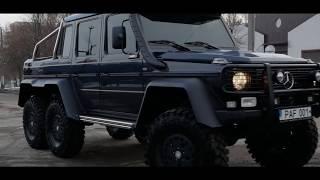 Mercedes G 6X6 Professional КОНЕЦ ПРОЕКТА.