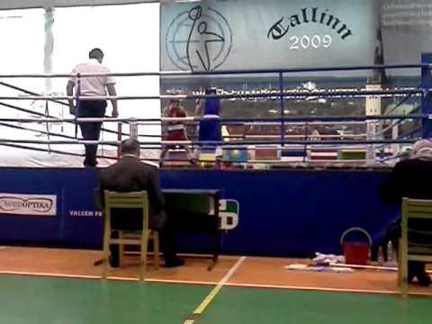 Nikita Molodkin vs Andrei Harchenko (EMV 2012(U-23) 64kg Final ) Raund 1