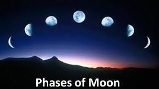Phases Of The Moon  Explanation For Kids -animation Lesson Unit