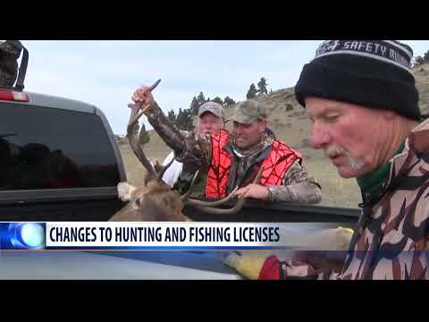 Montana FWP Makes Hunting, Fishing License Changes