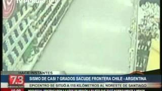 Chile: sismo de 6.6 grados se registró en Antofagasta