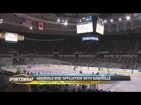 Admirals end partnership with Nashville Predators