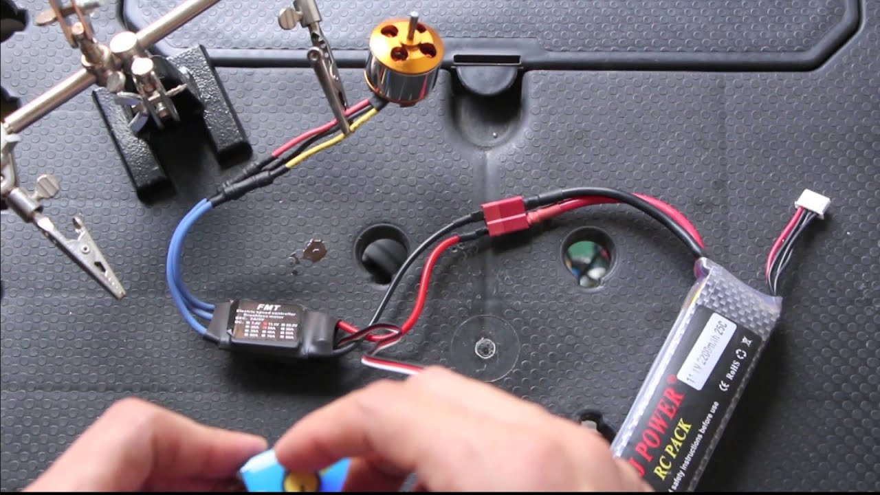Brushless Motor Test Youtube Learn How A Works And Checking Electrical Circuits