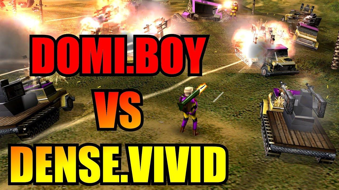 Domi/Boycah vs Vivid/Dense - 2v2 Tournament Round 2 - Generals Zero Hour
