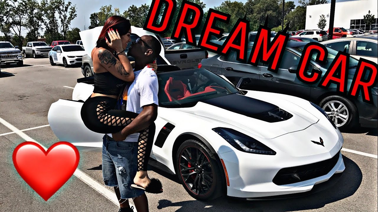 surprising my husband with his dream car
