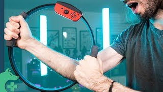 A Day with Ring Fit Adventure from a guy who doesn't exercise [Nintendo Switch]