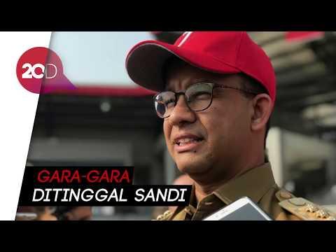 Lepas Obor Asian Games, Anies Singgung Sandiaga