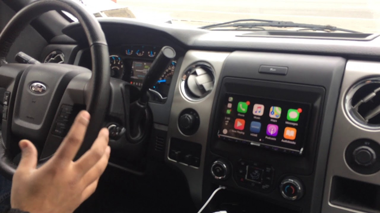 2014 Ford F150 With A Bigger Screen And Stereo Upgrade