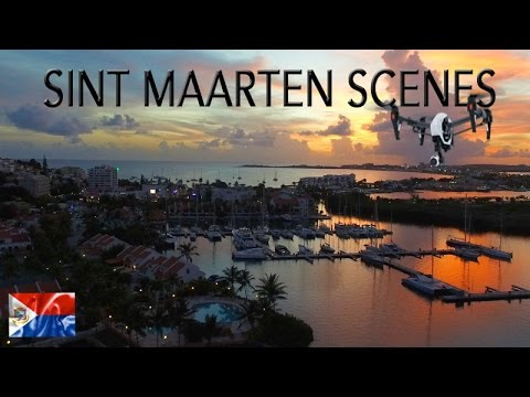 Epic aerial SCENES of SINT MAARTEN ~ Post Hurricane Irma ~  Drone Caribbean ~ WeBeYachting.com
