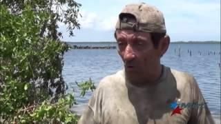 Pescar en puerto pesquero de Caibarién se convierte en un desafío