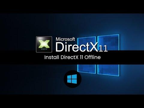 How To Download & Install DirectX 11   Offline Installer