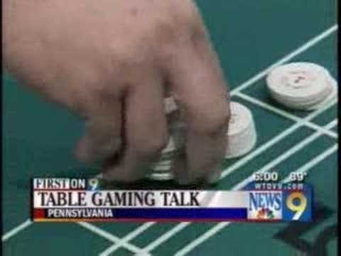 News Segment on Pennsylvania Officials Talking Table Games