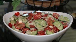 Как приготовить быстрый салат - ВИТАМИННЫЙ САЛАТ