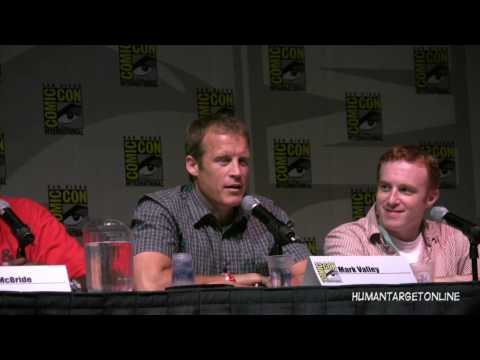 Mark Valley, Jackie Earle Haley, Chi McBride, Comic Con Panel for Human Target