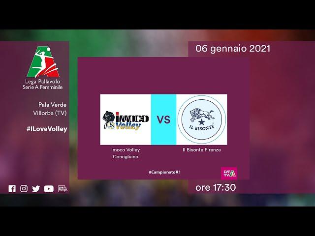 Conegliano - Firenze | Speciale | 21^Giornata Campionato | Lega Volley Femminile 2020/21