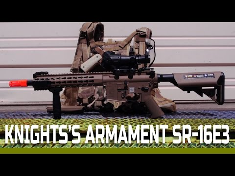Echo 1's Knight's Armament SR-16E3 Overview | Airsoftmegastore.com