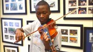 The Way by Ariana Grande ft. Mac Miller (Violin Cover) - Emmanuel Houndo
