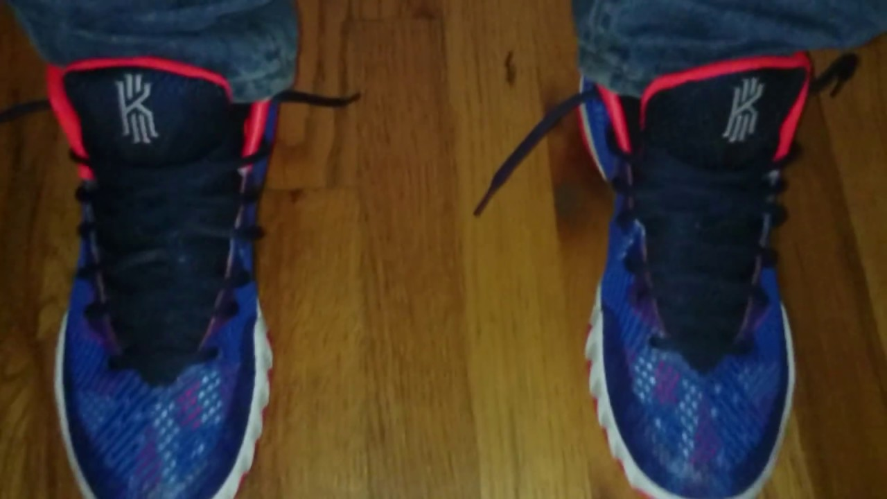 finest selection e09d4 bd569 Kyrie 1 usa aka independence day on foot