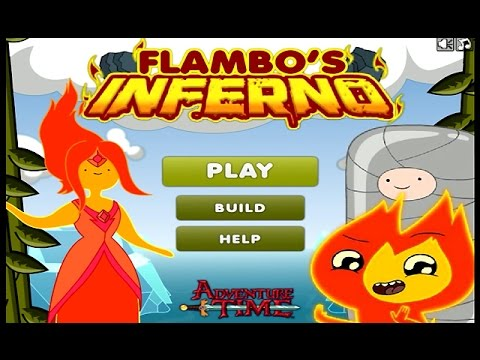 Adventure Time – FLAMBO'S INFERNO (Level 1-15) – Cartoon Network Games
