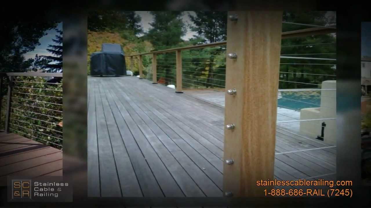 Easy Deck Railing Ideas