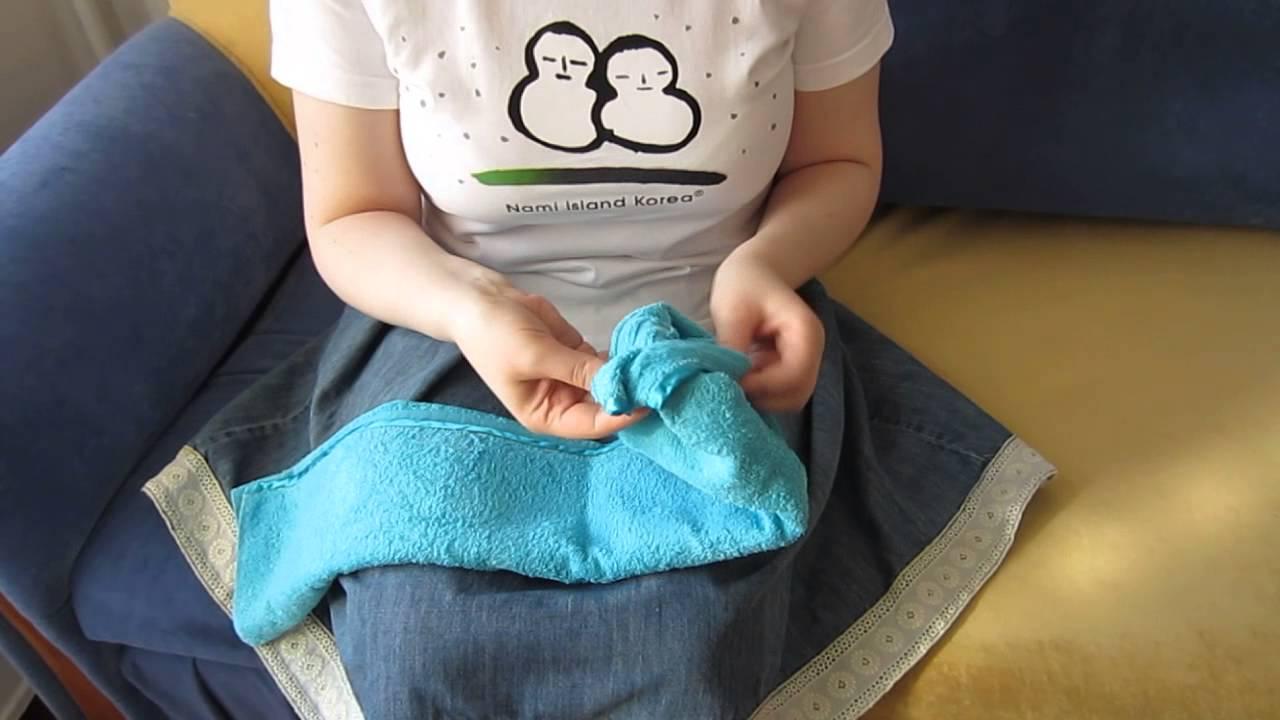 Как сшить сауну из полотенца