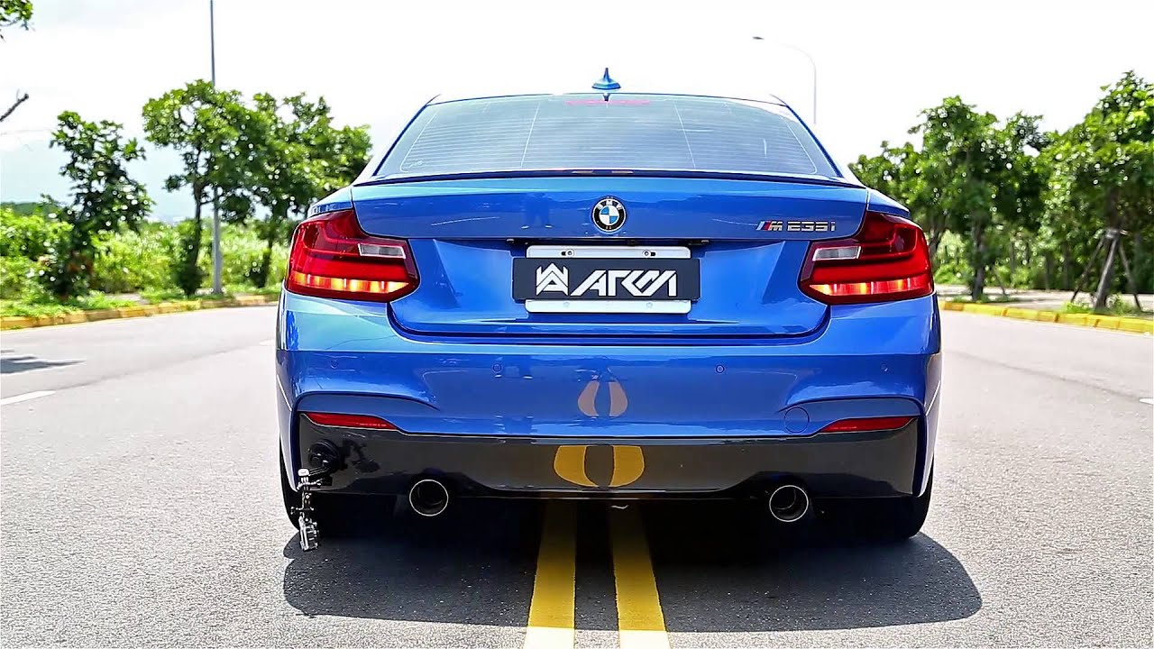 2014 BMW F22 M235i with Armytrix High Performance Valvetronic