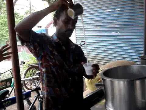India - Filter coffee on the street