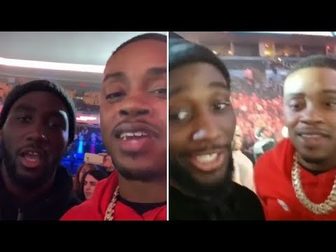 (WHOA) ERROL SPENCE & TERENCE CRAWFORD GET INTO IT, SPENCE