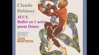 ドビュッシー バレエ音楽「遊戯」 マルティノン指揮フランス国立管弦楽団