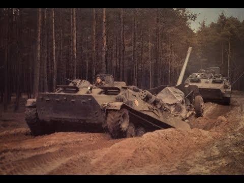 DDR. NVA. Anwendung BTR und BMP in der Armee der DDR