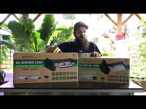 Growers Choice 630 and 315 CMH Review - YouTube