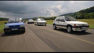 Peugeot 205 GTI, 309 GTI, 405 Mi16, 505 Turbo [COMPARATIF VIDEO] : so show !
